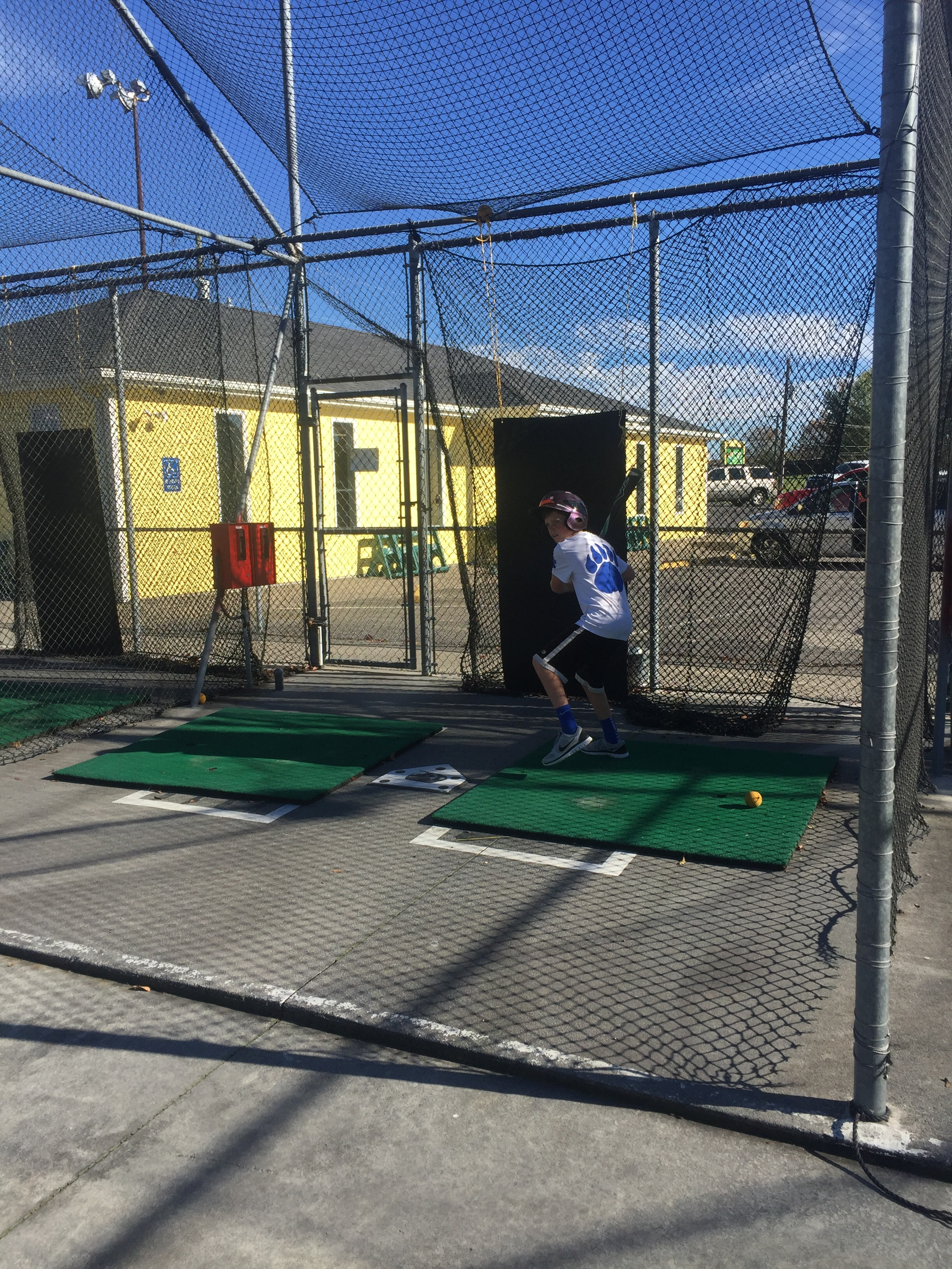 Spencer Batting Cage